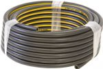 Air Line Hose - Black Rubber with Yellow Stripe 8 mm